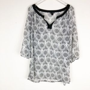 East 5th Sheer Blouse
